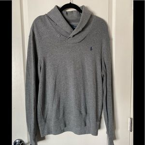 Polo Ralph Lauren Sweater - Grey - Size Large